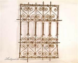 Grille Fenetre Fer Forgé : grille de fen tre marocaine en fer forg peint xxe ebay ~ Dailycaller-alerts.com Idées de Décoration