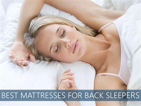 best mattress for back the 8 best mattresses for back sleeping 2018 reviews
