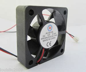 1pc brushless dc cooling fan 12v 50x50x15mm 50mm 5015s 2pin wire new