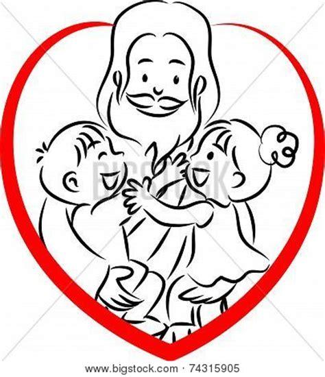 jesus cartoon  kids   clip art