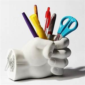 Pot A Crayon : pot crayons poing geek ~ Teatrodelosmanantiales.com Idées de Décoration