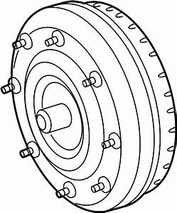 Ford Fusion Automatic Transmission Torque Converter  3 5