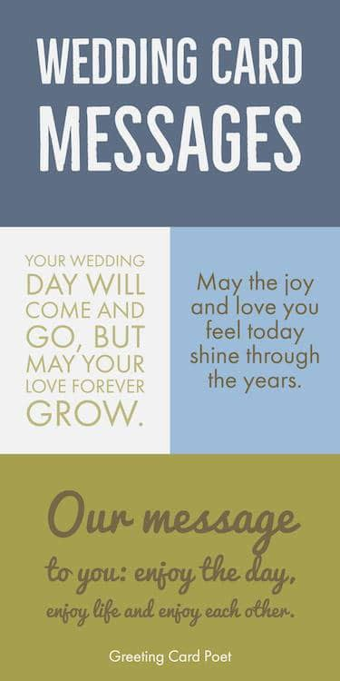 wedding card messages wishes  quotes   write  card