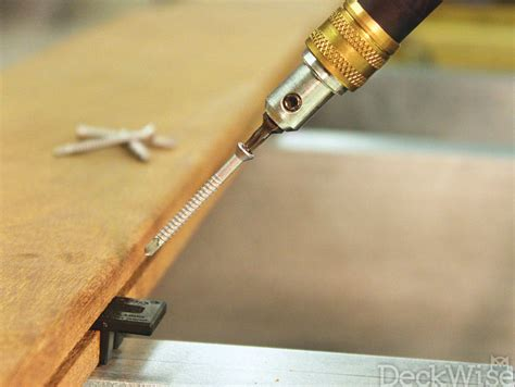 deck joist screws self tapping metal joist stainless deck screws deckwise