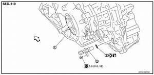 Nissan Sentra Service Manual  Output Speed Sensor