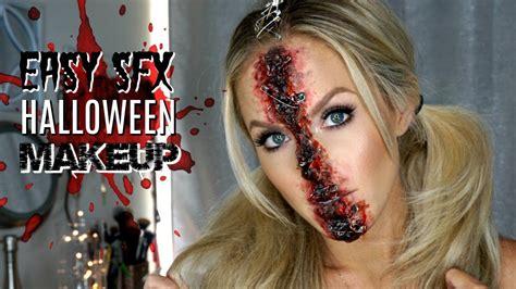 Easy Special Effects Makeup | Halloween Makeup Tutorial ...