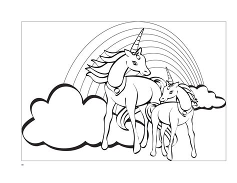 unicorn  wings coloring pages bubakidscom