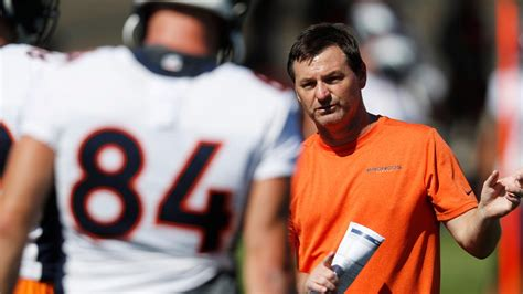 broncos vic fangio fires offensive coordinator rich