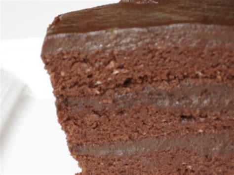 recette gateau au chocolat en anglais
