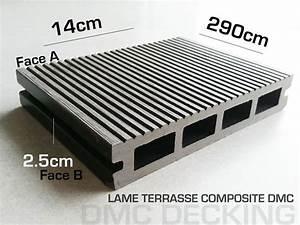 Lame De Terrasse Composite Longueur 4m : parquet bambou flottant massif parquet densifi aiko lame terrasse composite ~ Melissatoandfro.com Idées de Décoration