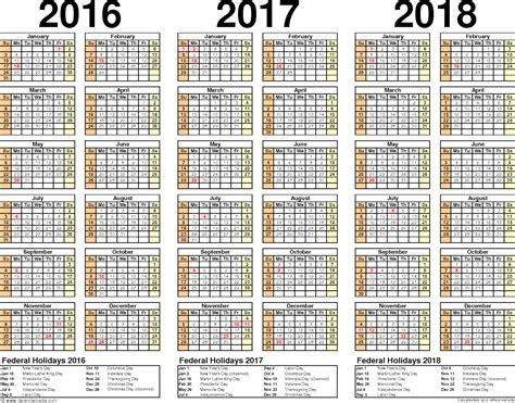 calendar year printable