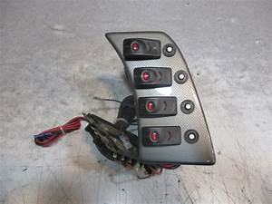 New Nos Marine Boat Dash Switch Panel And Fuse Block