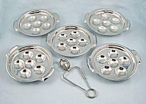 inox escargot trays plates  tong cookware  tipp eclectics