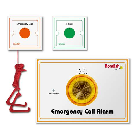 prompt delivery wireless bathroom emergency call system
