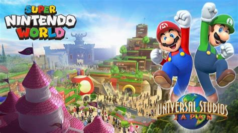 super nintendo world universal orlando resort overview history