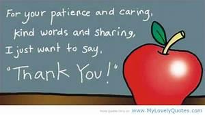 Kindergarten Teacher Quotes Thank You. QuotesGram