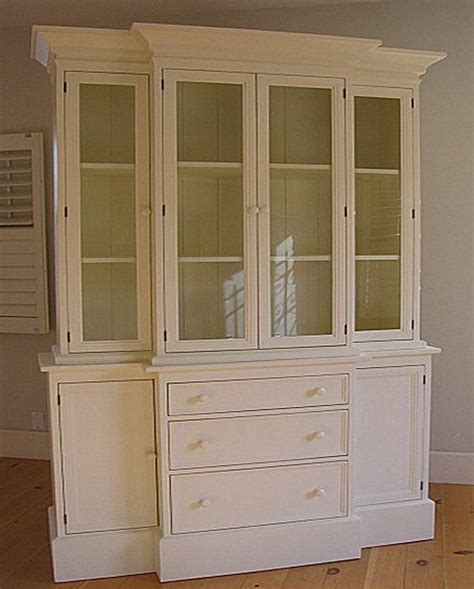 dining room hutch with glass doors detalles acerca de cl 225 sico breakfront hutch 15 cottage