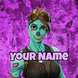 Fortnite Ghoul Trooper GamerpicProfile Pic Other Gameflip