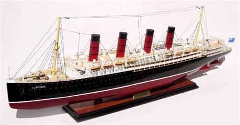 Rms Lusitania Model Sinking by Rms Lusitania