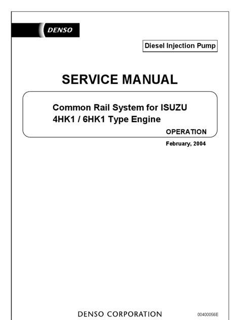 book repair manual 2006 isuzu i series electronic throttle control service manual common rail system isuzu 4hk1 6hk1 fuel injection