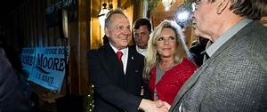 Roy Moore's wife defends him against anti-Semitism claims ...