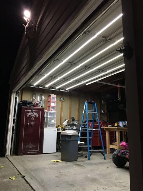 Garage Door Lights by Track Garage Door Lighting System Garage Door