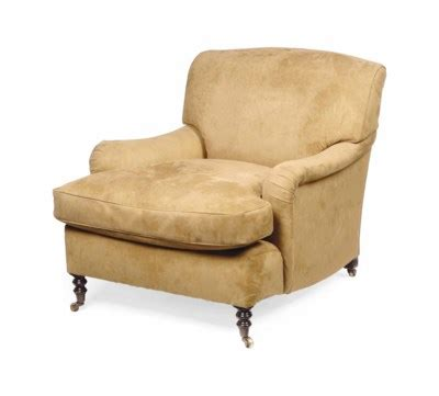 George Smith Armchair by A George Smith Easy Armchair Of Recent Manufacture
