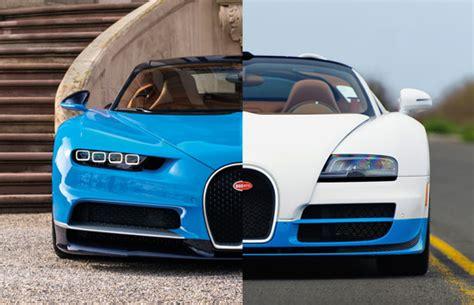 Bugatti Veyron And Chiron by Bugatti Chiron To Us Veyron The Similarities And