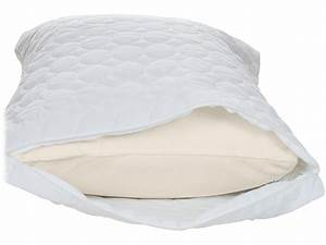 Remedy cotton bed bug and dust mite pillow protector king for Bed bug mattress and pillow protectors