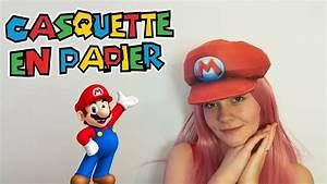 Diy   Casquette De Mario En Papier   Mario Papercraft