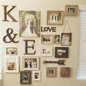 wall collages ideas design decoration With kitchen colors with white cabinets with family tree photo collage wall art