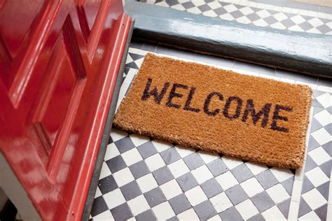 Welcome Mat by 9 Things You Re Doing To Ruin Your Hardwood Floors Without