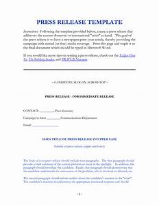 9 best images of press release form template press With simple press release template