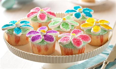 42 fun and easy easter craft ideas for kids. Flower Power Cupcakes | Easter recipes, Desserts, Kraft ...