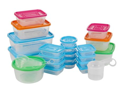 Plastic Containers For Food. 50 Plastic Food Storage ...