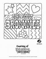 Scout Coloring Brownie Printable Scouts Cookie Daisy Daisies Heavenly Sketchite Photobucket sketch template