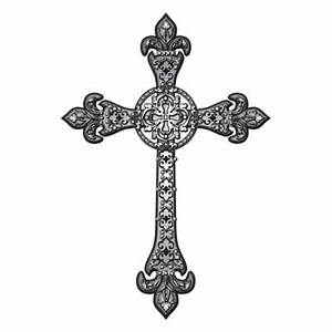 Christian Cross Drawing - ClipArt Best