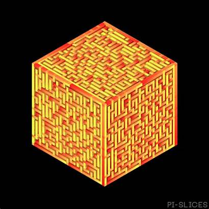 Cube Maze Pi Giphy Slices Tweet