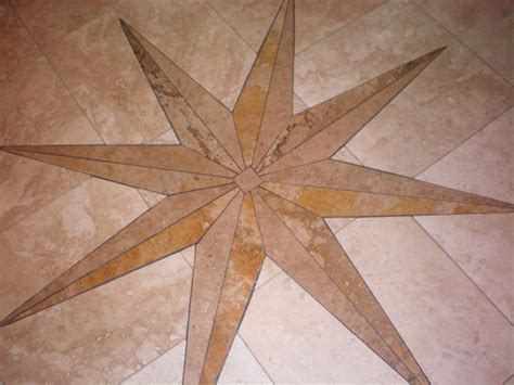 travertine medallion travertine medallion bathroom new orleans by floorworks and blinds
