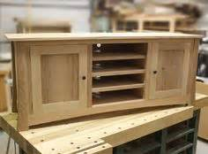 tv stand woodworking plan  simple  build