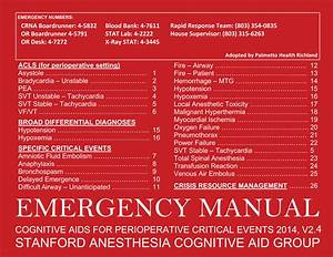 Emergency Manual