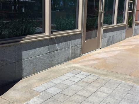 slate tile on exterior walls