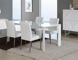 javascript est desactive dans votre navigateur With salle À manger contemporaineavec chaise blanche design