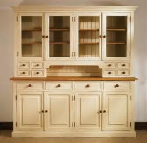 kitchen hutch cabinet mottisfont painted pine large glazed dresser 1809