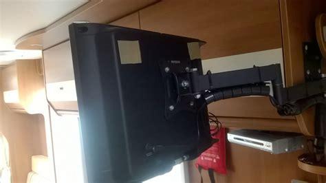 tv halterung wohnmobil tv halterung zum wandanbau und zum herausziehen