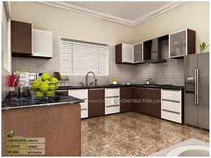 Small kitchen design in kerala style and kerala style for Home interior design styles in pakistan