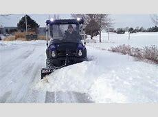 Kawasaki Mule 610 XC Plowing Snow Blackline Plow YouTube