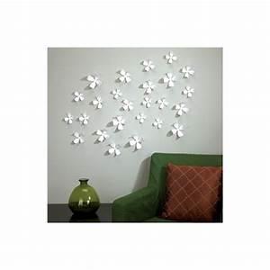 Decoration Murale Fleur : fleur decorative murale ~ Teatrodelosmanantiales.com Idées de Décoration