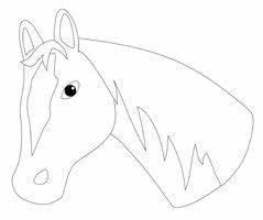 Pdf Seiten Ausschneiden : pferdekopf diy pinterest kindergeburtstag basteln pferd pferde und kindergeburtstag pferde ~ Orissabook.com Haus und Dekorationen