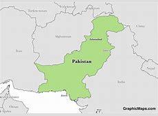 Pakistan GraphicMapscom